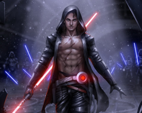 Картинка фэнтези _star+wars fan art lightsaber sith star wars