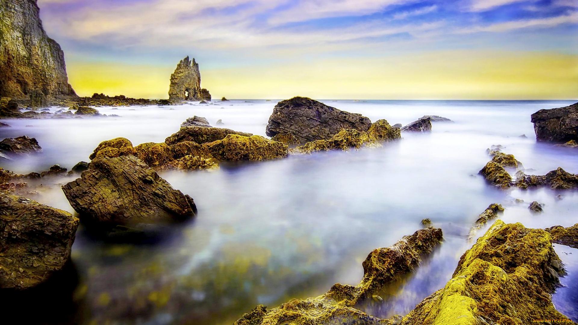 Скалы море природа  № 3800385 без смс