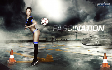 Картинка football fascination спорт футбол девушка