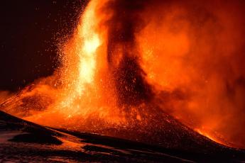 обоя природа, стихия, извержение, вулкана, этна, сицилия