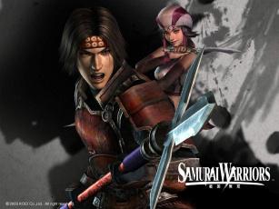 Картинка видео игры samurai warriors