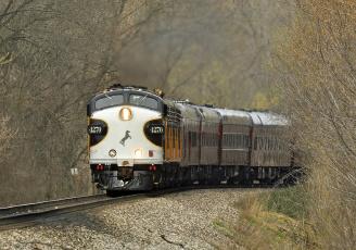 Картинка техника поезда локомотив состав дорога железная рельсы