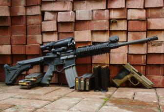 обоя оружие, gun, automatic, balls
