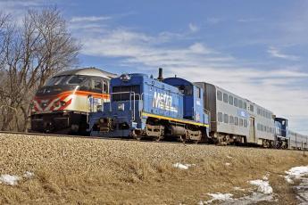 Картинка техника поезда локомотив рельсы дорога железная состав
