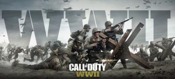 обоя видео игры, call of duty ,  ww ii, ww, ii, call, of, duty, шутер, action