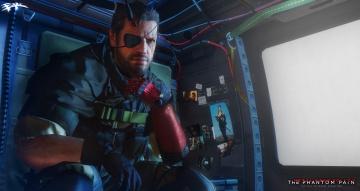 обоя видео игры, metal gear solid v,  the phantom pain, униформа, взгляд, фон, мужчина