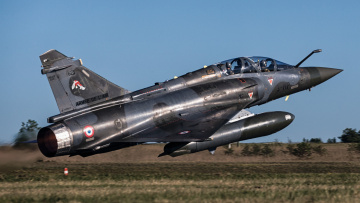 обоя dassault mirage 2000d, авиация, боевые самолёты, истребитель