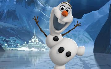 обоя мультфильмы, frozen