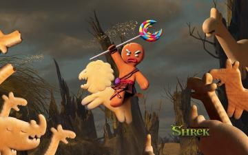 Картинка мультфильмы shrek forever after