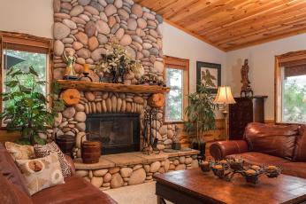 обоя интерьер, камины, камень, декор, гостиная