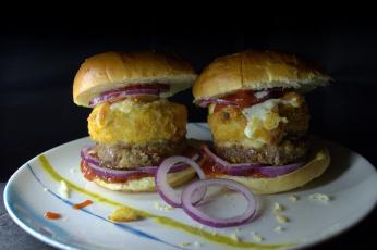 Картинка еда бутерброды +гамбургеры +канапе бутер