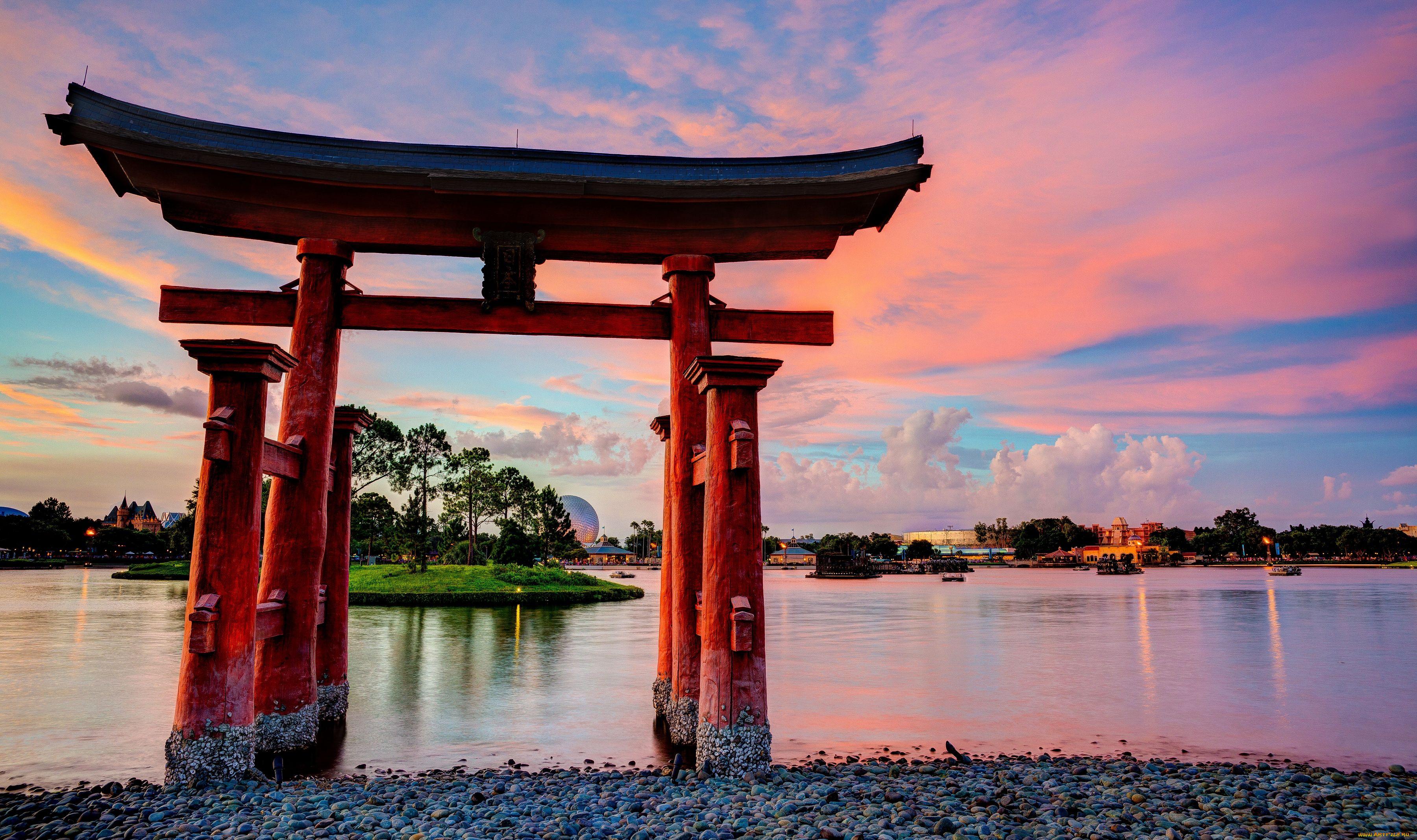 torii gate drawing - HD2698×1600