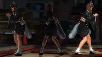 Картинка видео+игры dead+or+alive+5 девушки взгляд фон хвостики