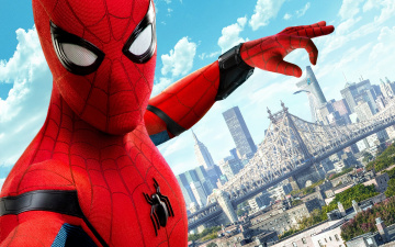 обоя кино фильмы, spider-man,  homecoming, homecoming
