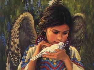 Картинка фэнтези ангелы