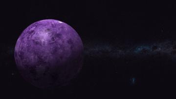 Картинка космос арт вселенная планета звезды цвет