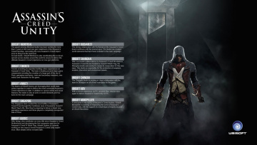 Картинка видео+игры assassin`s+creed+unity оружие фон взгляд мужчина