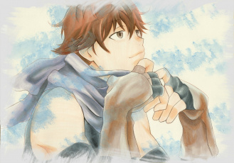 Картинка аниме hai+to+gensou+no+grimgar парень