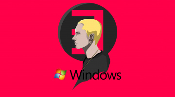 обоя компьютеры, windows 7 , vienna, фон, логотип