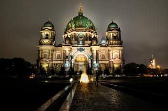 Картинка berlin dom города берлин германия дворец