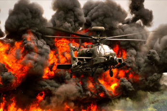 обоя apache, авиация, вертолёты, вертушка