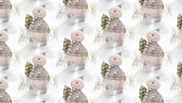 обоя праздничные, векторная письменность , свежеиспеченный год, фон, праздник, текстура, новый, год, снеговик