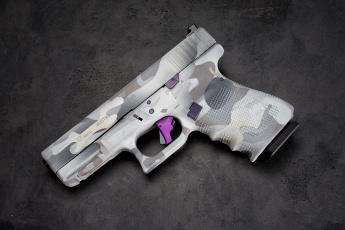 обоя оружие, пистолеты, glock, 19, макро, фон, пистолет