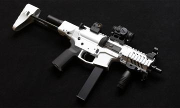 обоя оружие, автоматы, ar15, фон, 9mm