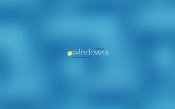 обоя компьютеры, windows 8, логотип, фон