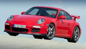 Картинка porsche 911 gt3 автомобили элитные спортивные германия dr ing h c f ag