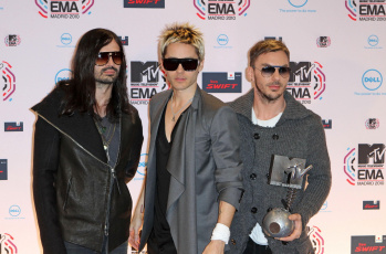 Картинка музыка 30 seconds to mars jared leto премия ema mtv джаред лето tomo milichevic shannon