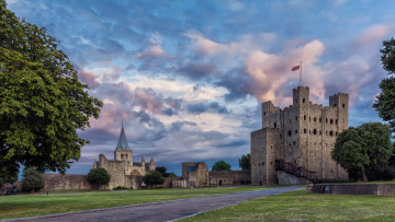 Картинка rochester+castle города замки+англии замок