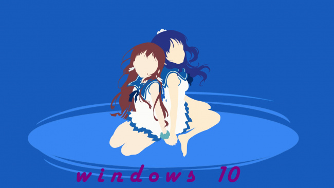 Обои Windows 10 Девушки