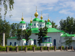 обоя воскресенский, собор, Череповце, города, православные, церкви, монастыри