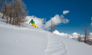 обоя спорт, лыжный спорт, снег, горы