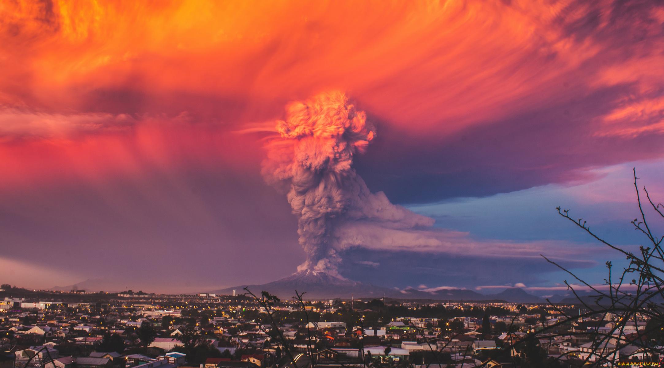 Земля после извержения вулкана без смс