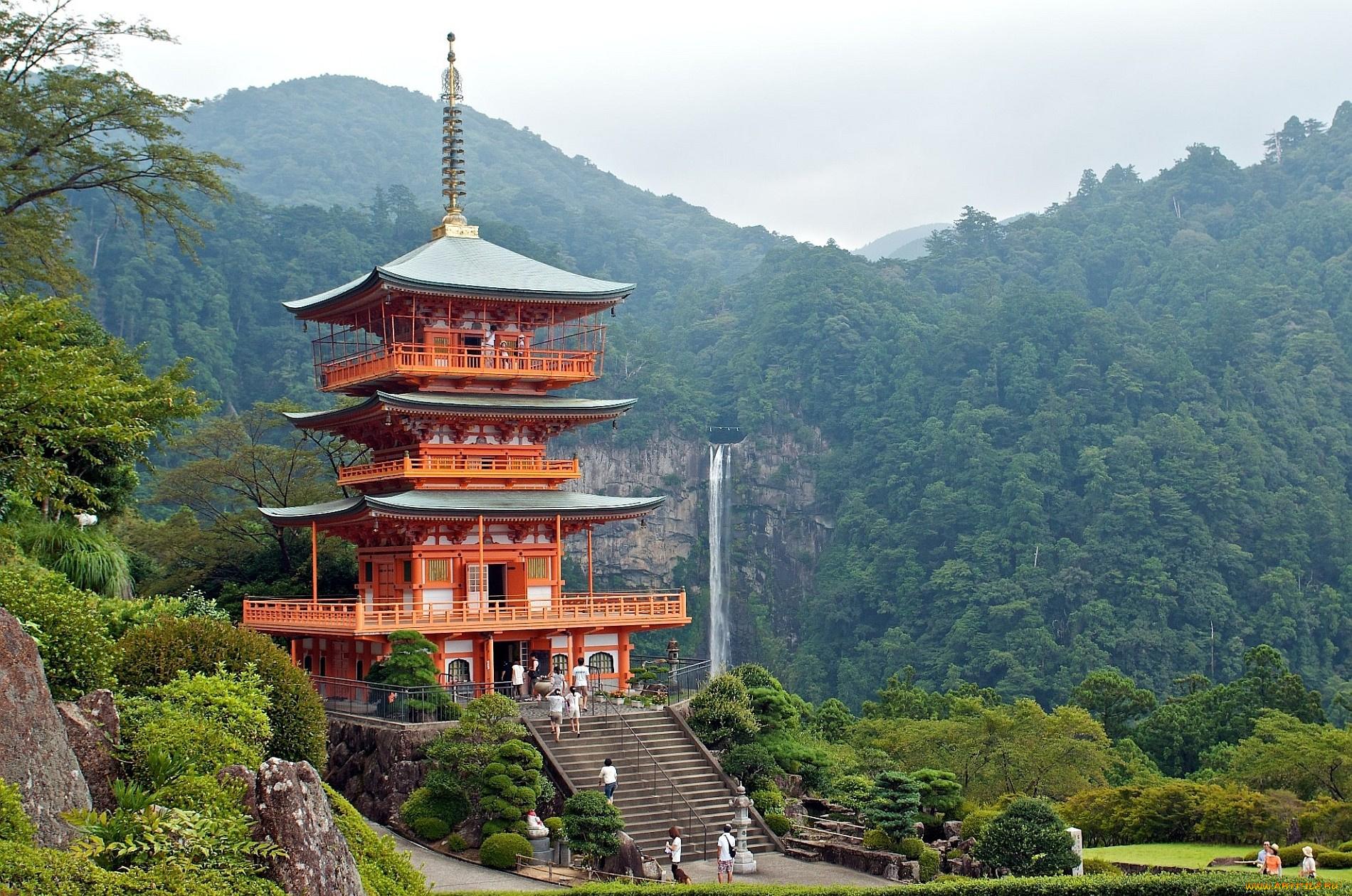 Пагода японская картинки