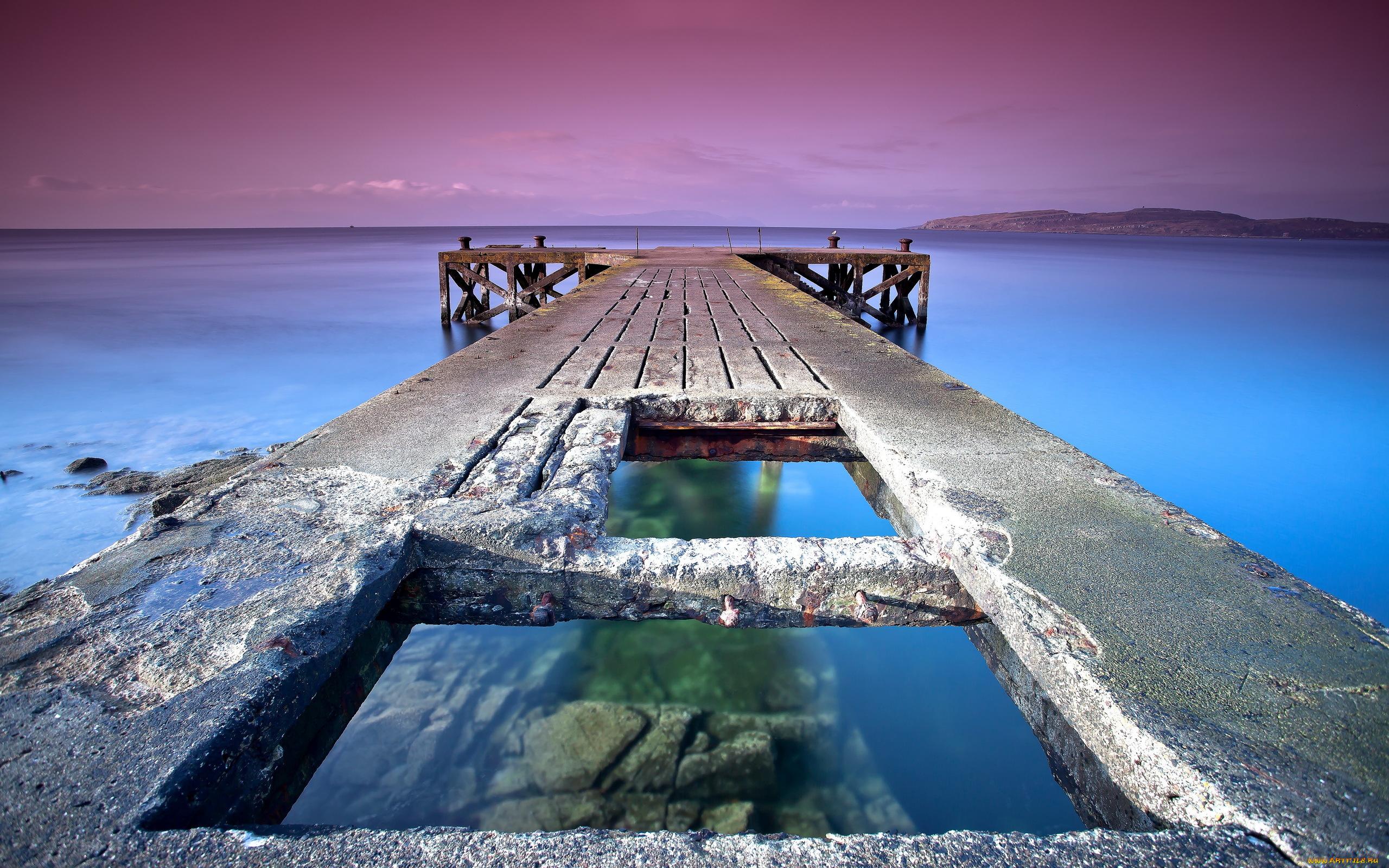 природа море мост  № 70120 бесплатно