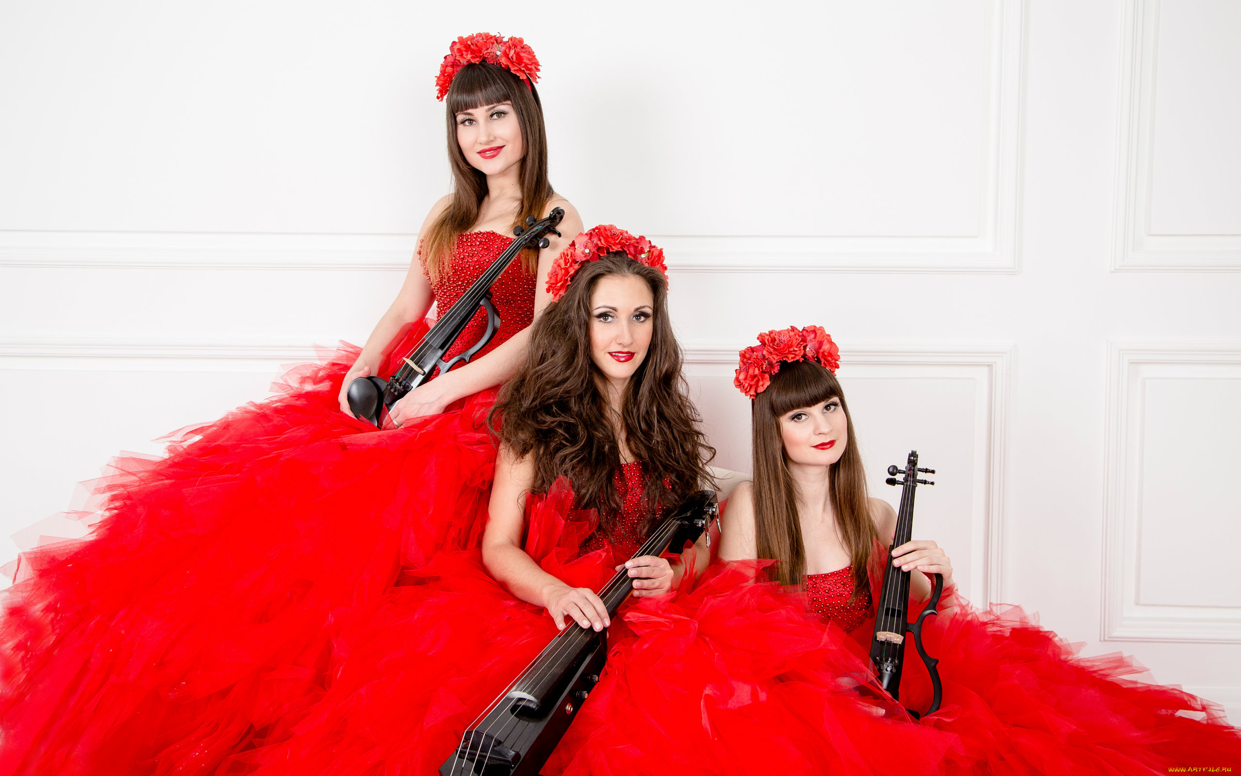 Скрипачка Violin Group DOLLS  № 1857099 загрузить