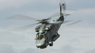 обоя kaman sh-2g super seasprite, авиация, вертолёты, вертушка