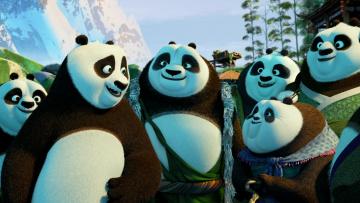 Картинка мультфильмы kung+fu+panda+3 панда