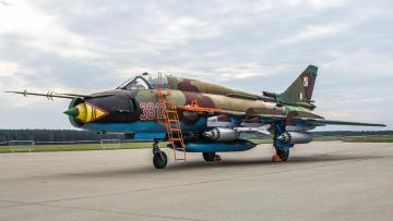 обоя su-22m4, авиация, боевые самолёты, истреьитель