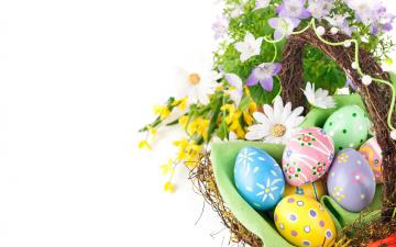 Картинка праздничные пасха easter spring крашеные яйца