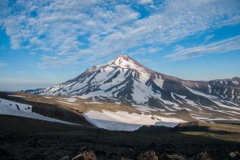 обоя природа, горы, вулкан, авачинская, сопка, камчатка