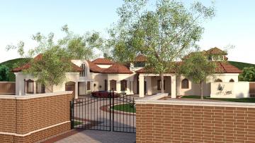 обоя 3д графика, архитектура , architecture, дом