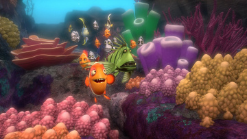обоя a turtle`s tale 2,  sammy`s escape from paradise, мультфильмы, sammy`s avonturen 2, персонажи