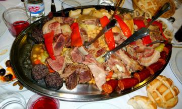 обоя еда, мясные блюда, мясо, гарнир