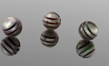 Картинка 3д+графика шары+ balls шары фон