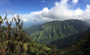 обоя природа, горы, вершина, облака
