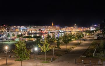 обоя kiel, города, киев , украина, огни, ночь